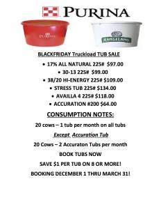BLACK FRIDAY Truckload TUB SALE